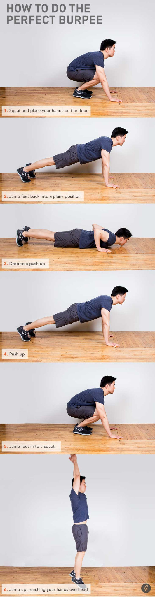 huong dan tap Burpees dung cach