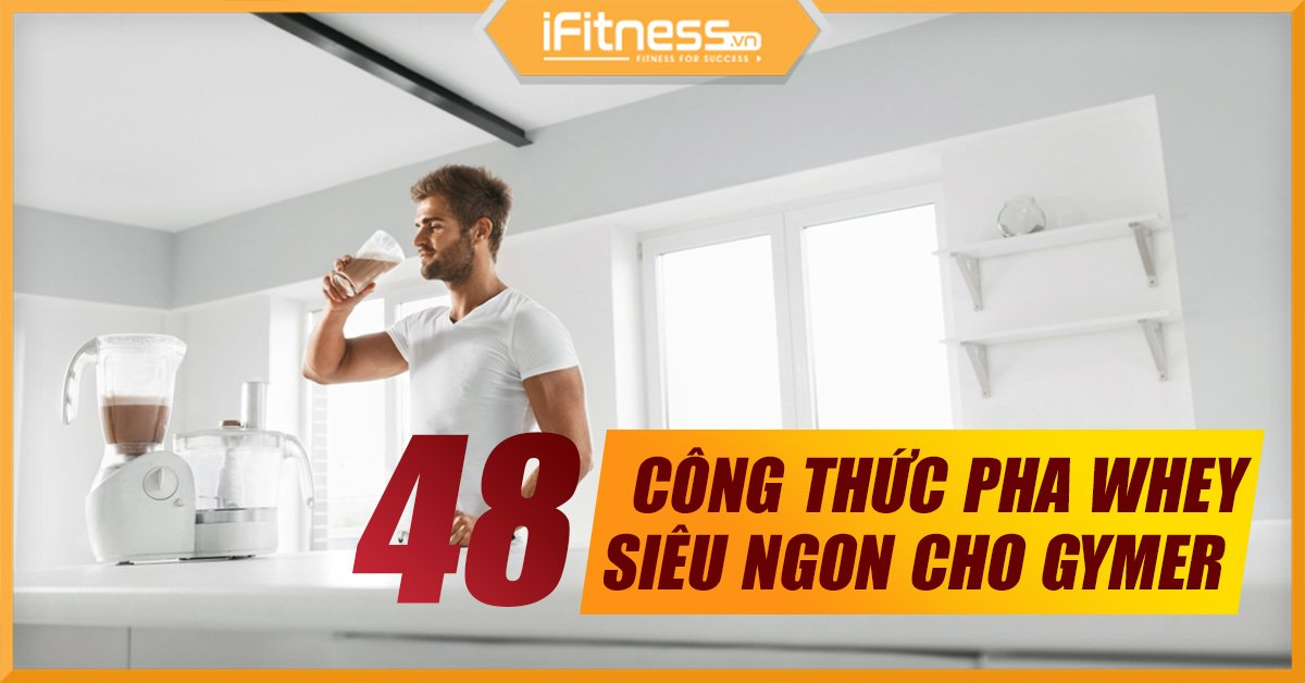 cach pha whey protein