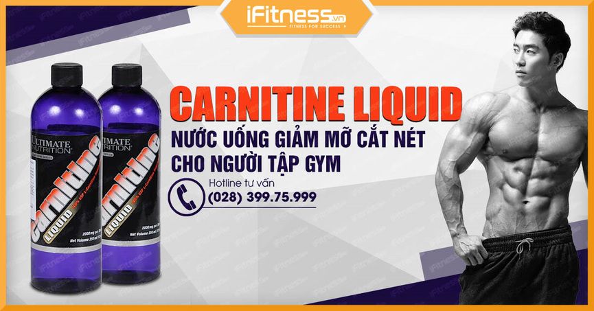 ultimate nutrition carnitine liquid