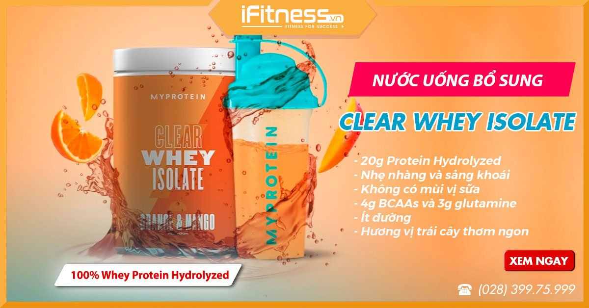 myprotein clear whey isolate fbcv