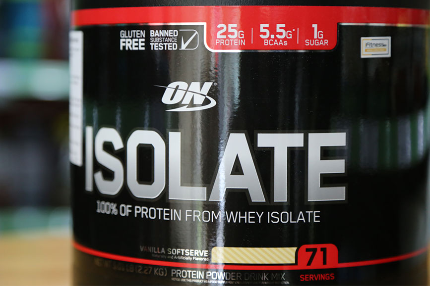 danh gia isolate whey on