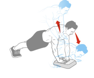 Dynamic Box Push-up