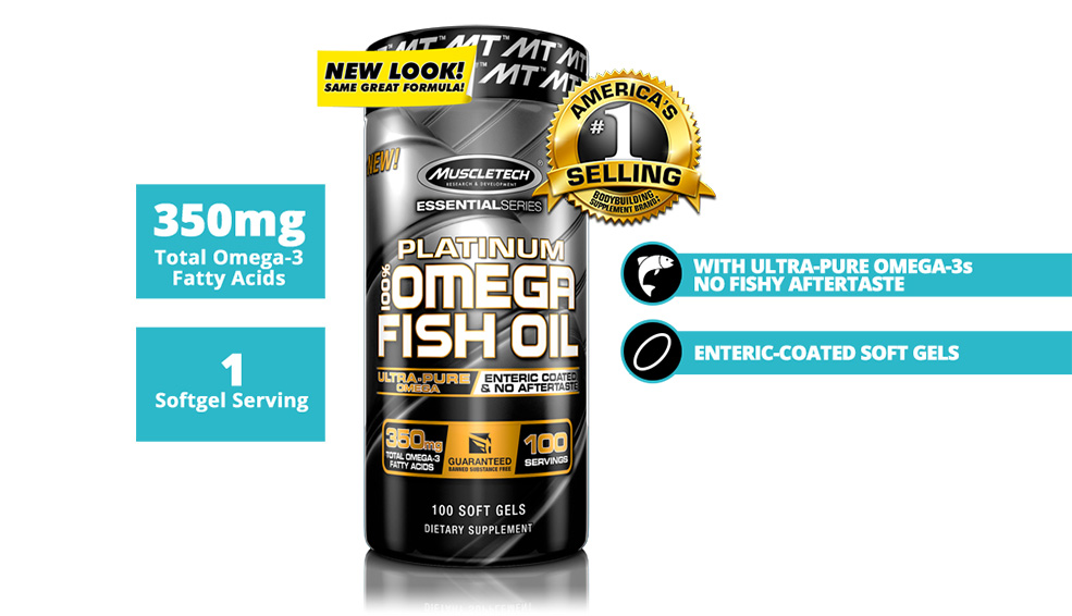 featured PLATINUM 100% OMEGA FISH OIL