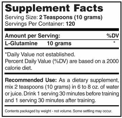 AST Sports Science GL3 L-Glutamine 1200g