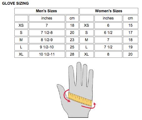 chon size gang tay
