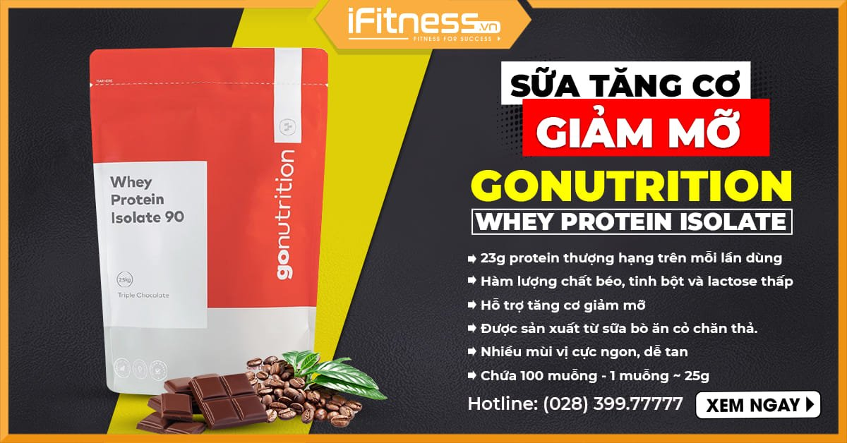 GoNutrition Whey Protein Isolate 90 banner