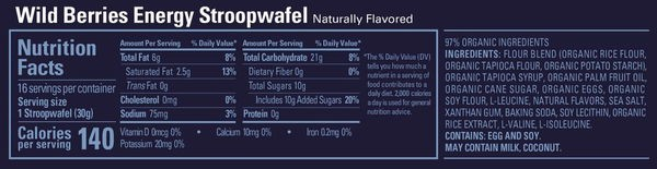 gu stroopwafel wildberries nutritionalfacts