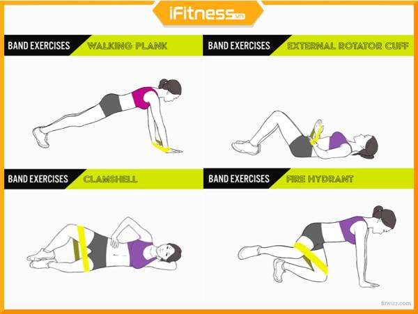 Gym Mini Band Exercise Loop