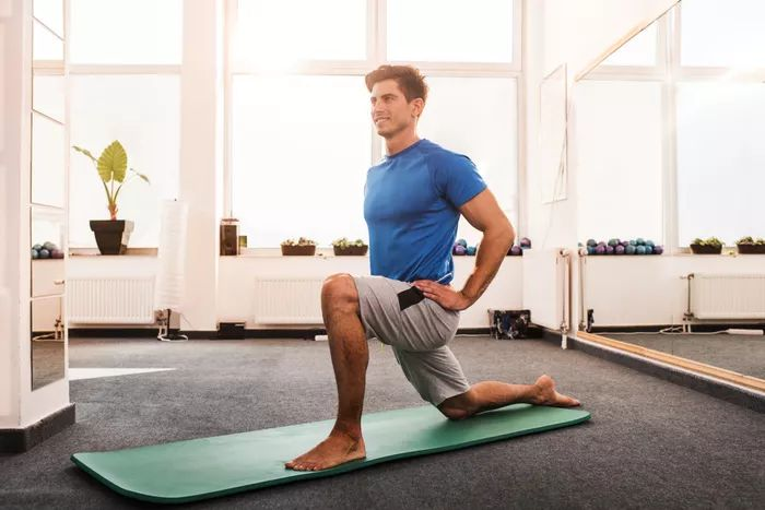 Hip Flexor and Psoas Stretch