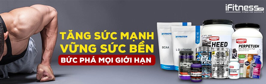 iFitness Collection Tang suc manh, tang suc ben