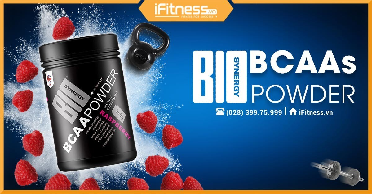 iFitness FBCV bio-synergy BCAA Powder 360g