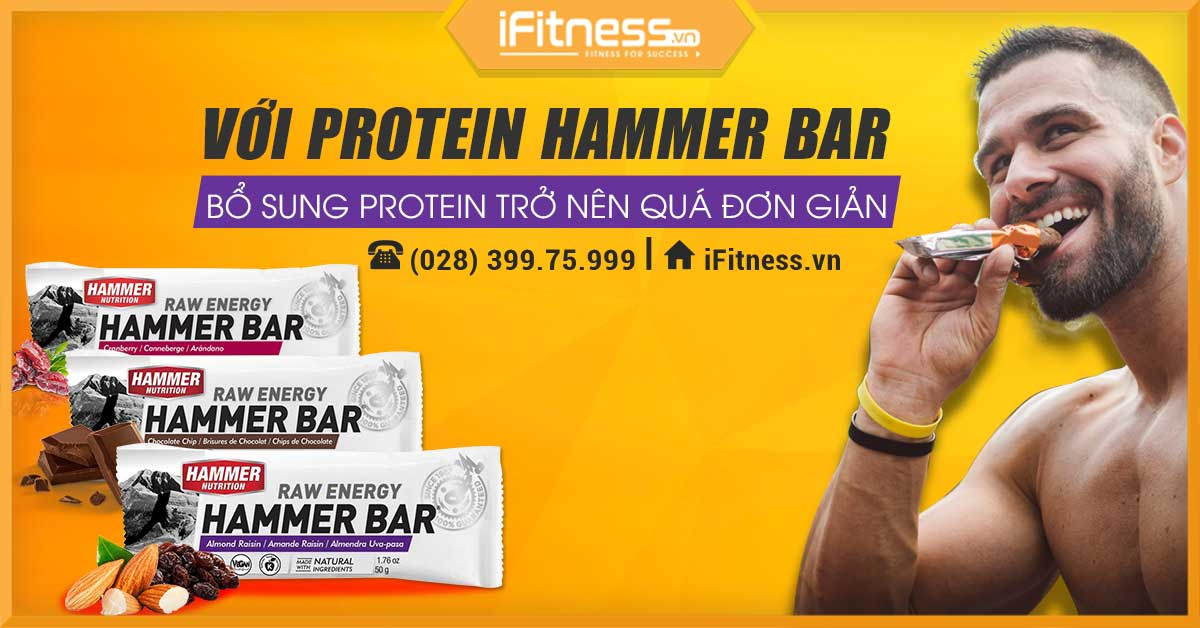 iFitness FB Hammer Bar