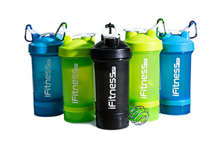 iFitness Pro Shaker 4-in-1 Mix