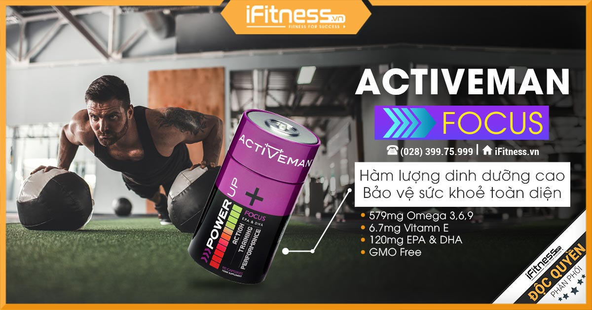 Active Man Focus banner iFitness