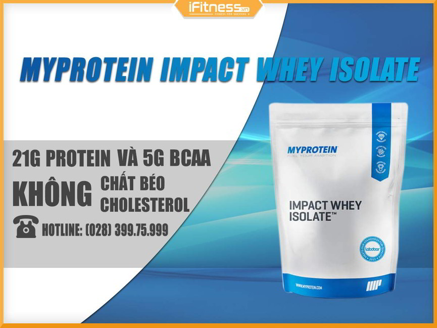 Impact Whey Isolate 5kg banner