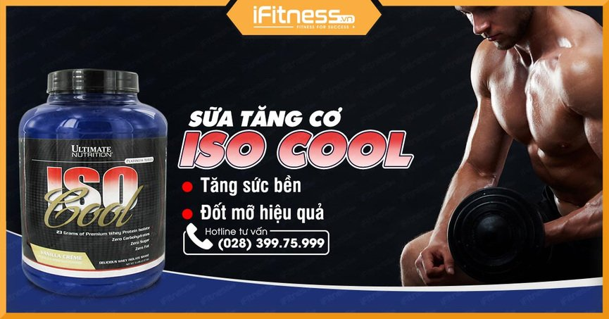 ultimate nutrition iso cool 907g