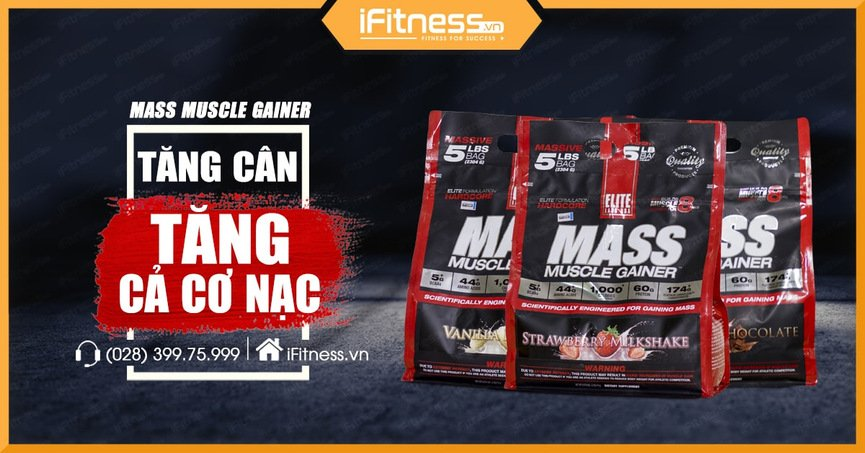 mass muscle gainer sua tang can tang co