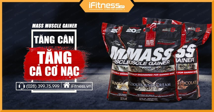 Mass Muscle Gainer 9.09kg
