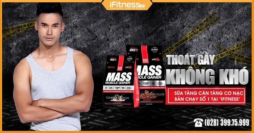 Mass Muscle Gainer 2.3kg banner 2