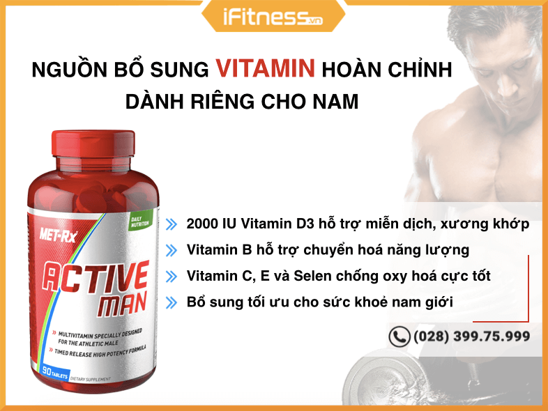 met-rx active men multivatamin