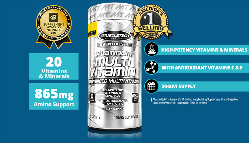 MuscleTech multivitamin banner