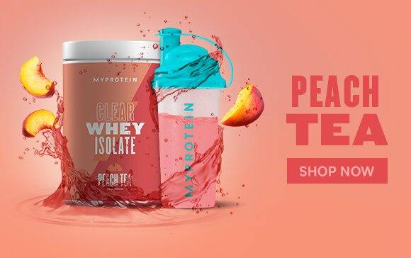 myprotein clear whey isolate peach tea