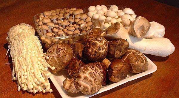 Nấm -  thực phẩm giảm cân tự nhiên