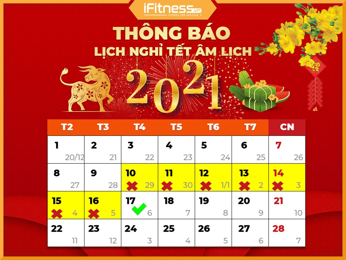 ifitness nghi tet 2021