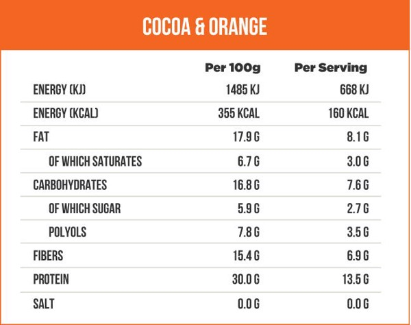 Protein Bar CoCoa & Orange