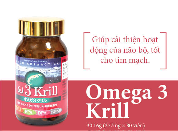 Plus One Omega 3 Krill 80 Vien