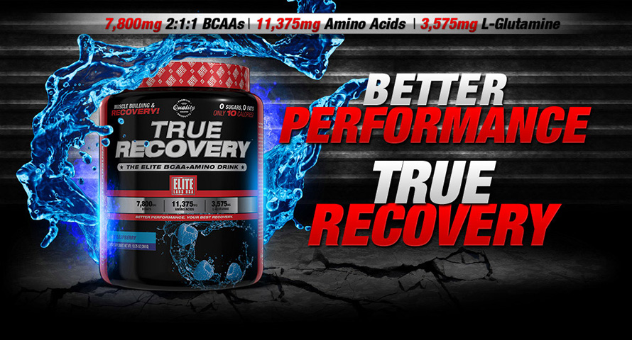 Elite Labs USA True Recovery 390g banner