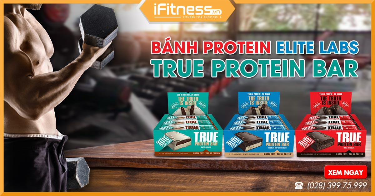 Elite Labs True Protein Bar
