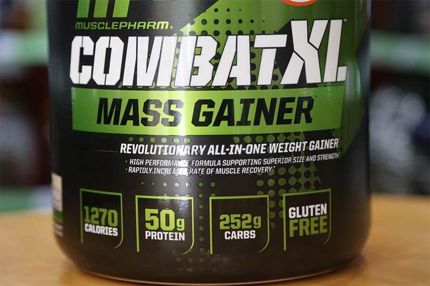 review combat xl mass gainer
