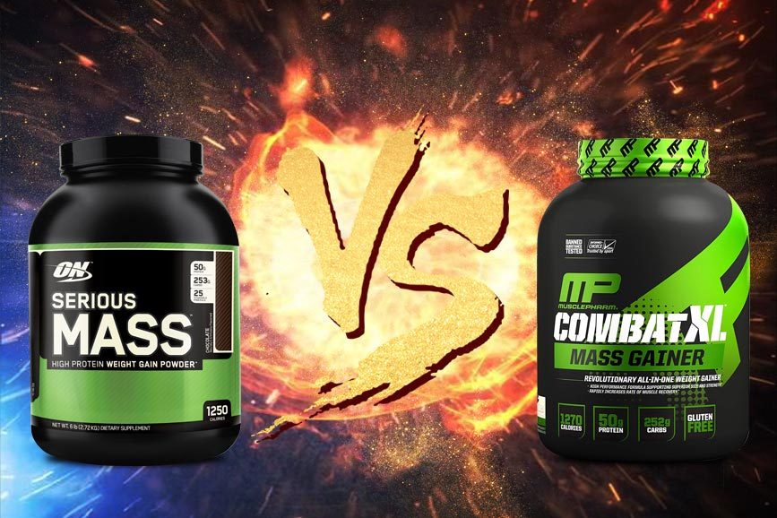 serious mass vs combat xl