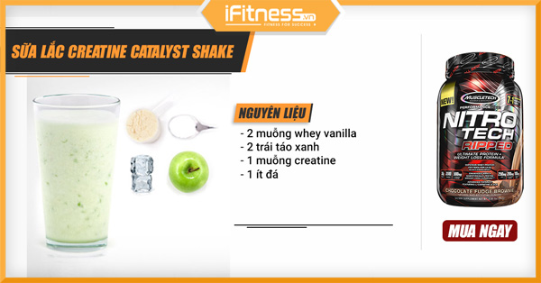 sua lac creatine catalyst shake