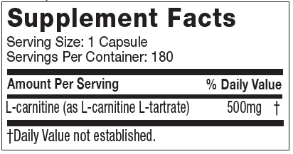 Platinum carnitine Supplement