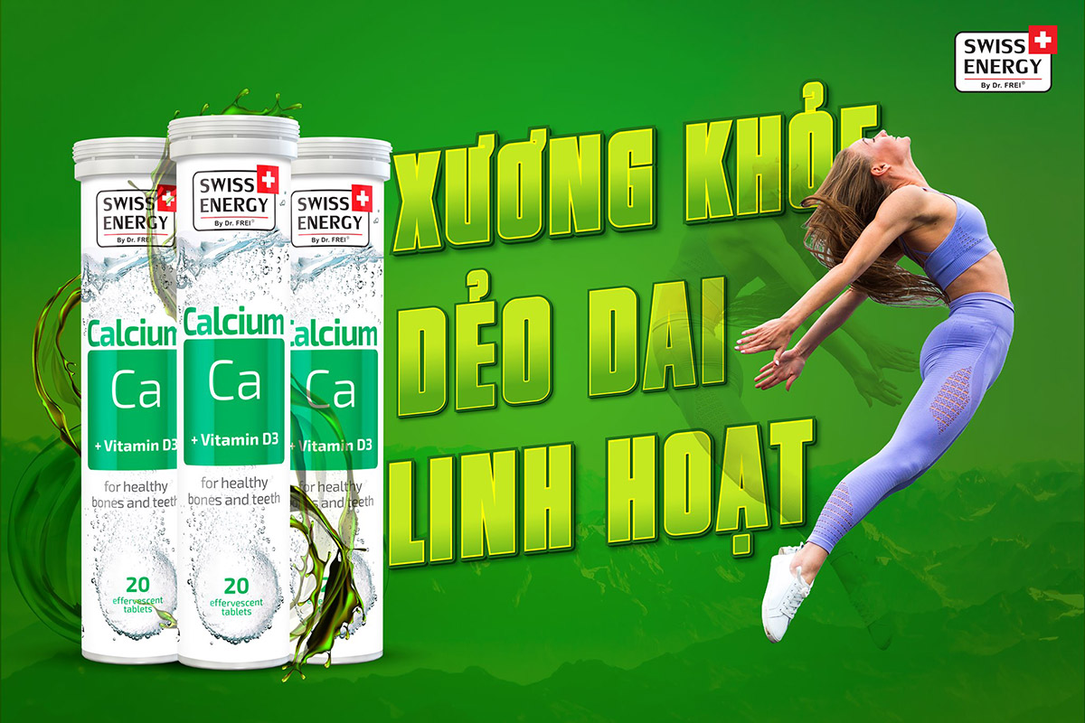 Swiss Energy Calcium Ca + Vitamin D3