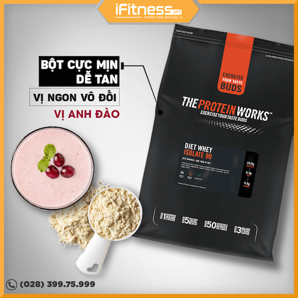 the protein works whey isolate 90