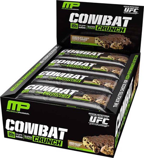 MusclePharm Combat Crunch Bars