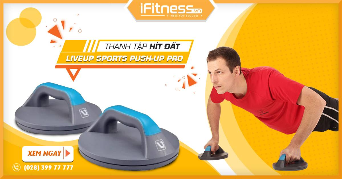 thanh tap hit dat liveup sports push-up pro
