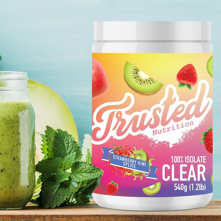 trusted nutrition 100 isolate clear