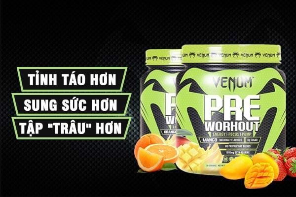 venum pre workout