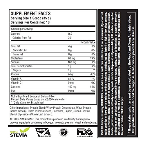 Venum Whey Protein 350g facts