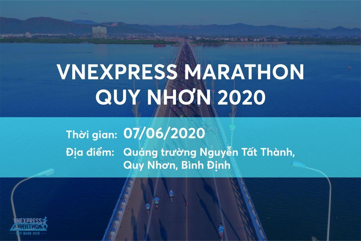 VnExpress IMarathon Quy Nhơn 2020
