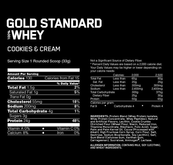 gold standard cookies facts