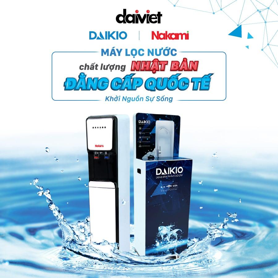 Hướng dẫn vệ sinh máy lọc nước RO Daikio