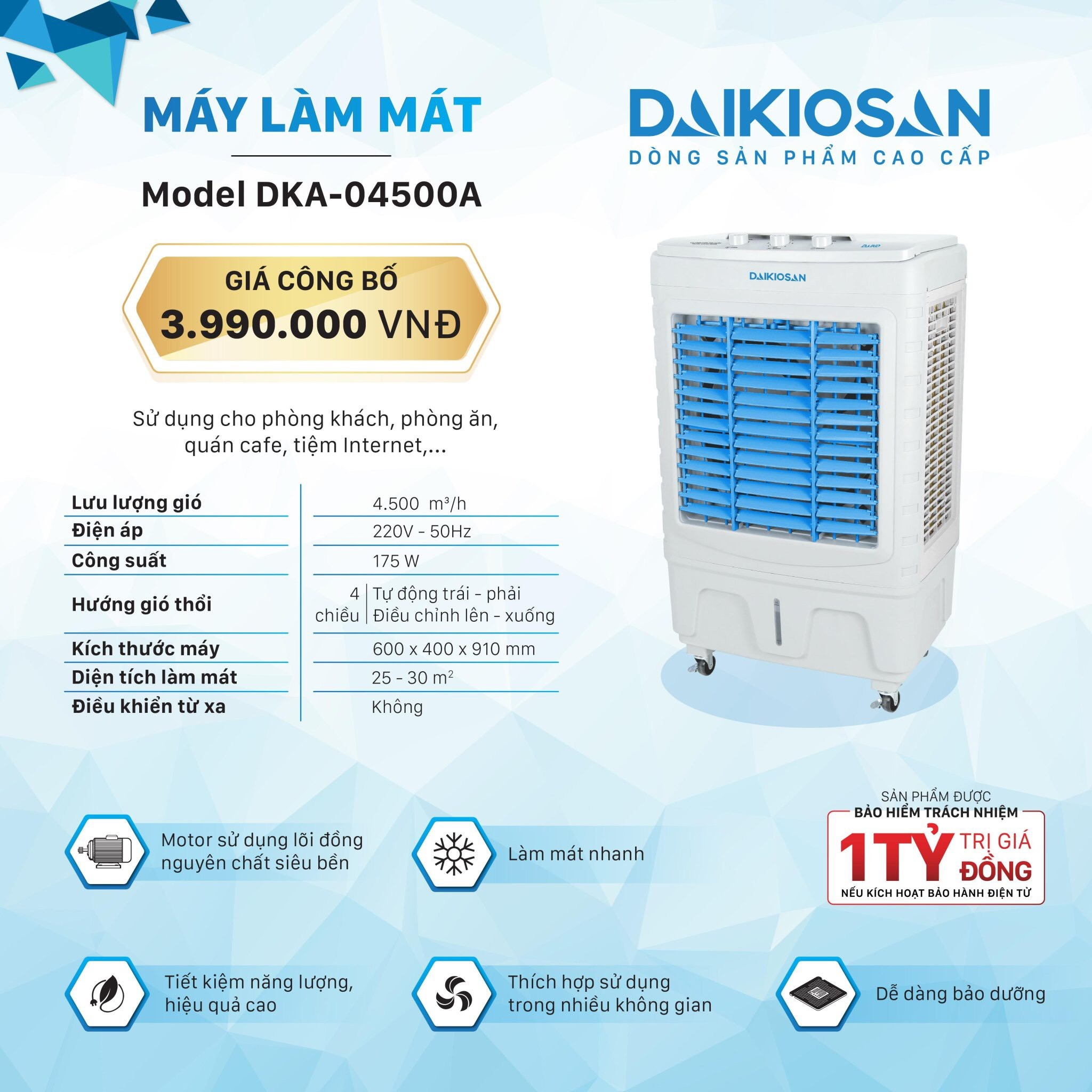 may lam mat daikiosan 4500a