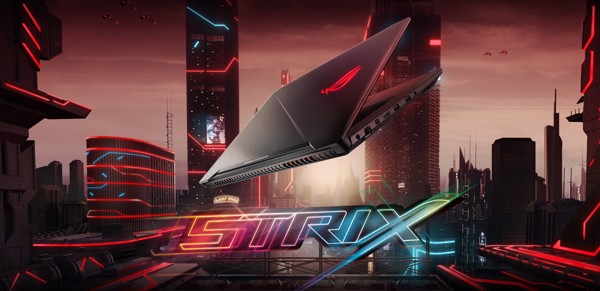 Laptop cũ Asus ROG Strix GL703VD i7 7700HQ, GTX1050 4GB, 17.3 full hd, Full Box