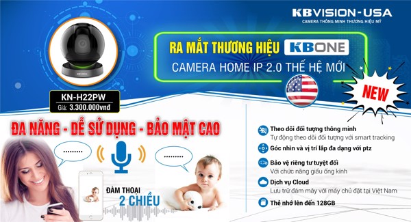 Camera IP Wifi KBONE KN-H22PW KBVISION