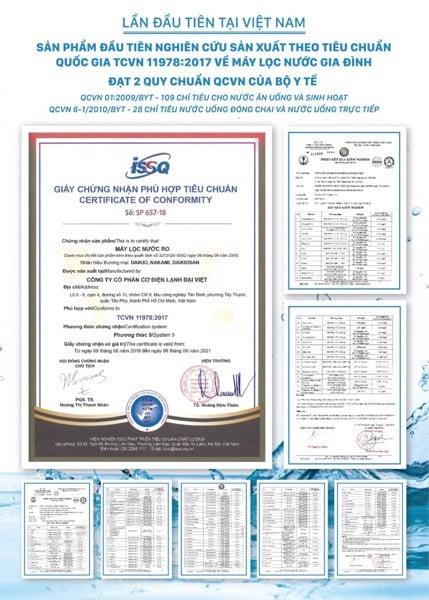 may loc nuoc nong lanh Daikio RO DKW-00009c